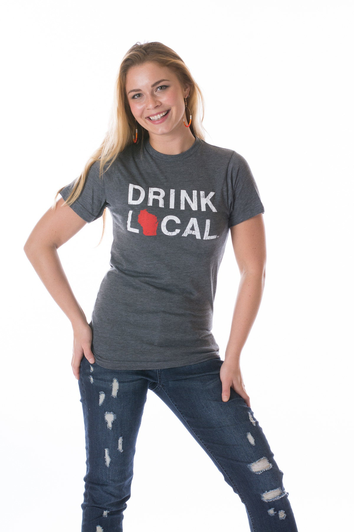 Drink Local Wisconsin Tee