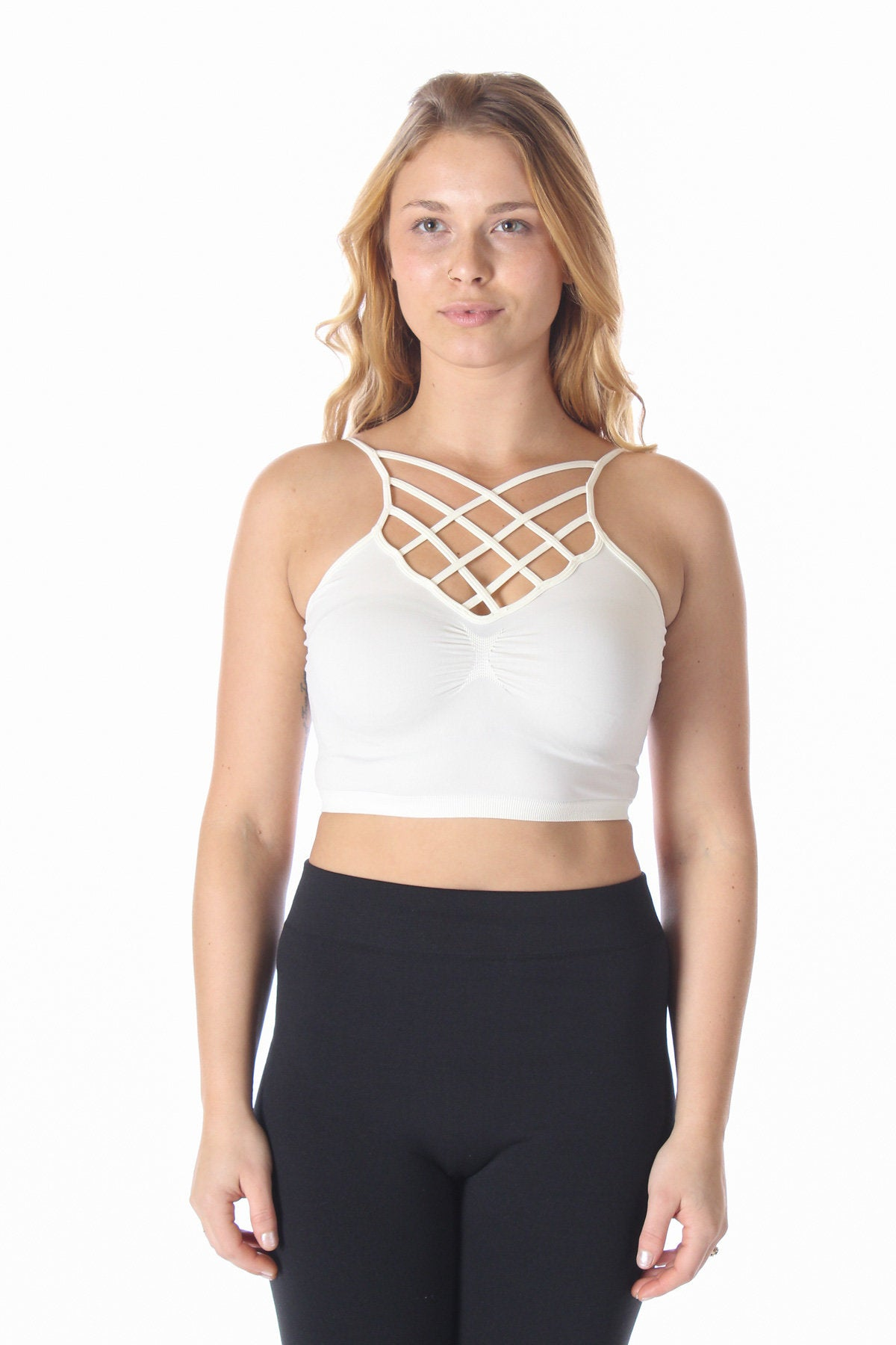 Criss Cross Crop Bralette