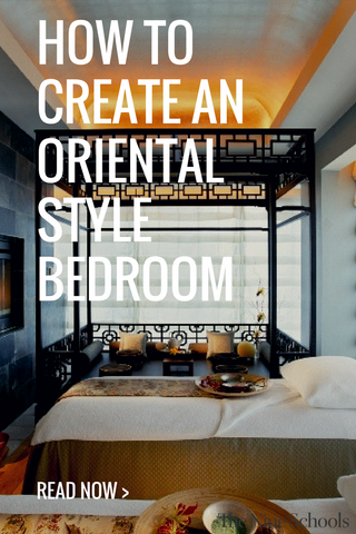 Oriental Inspired Bedroom