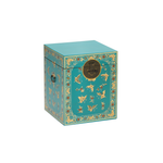 Oriental decorated blue trunk