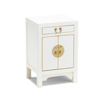 Qing white small cabinet