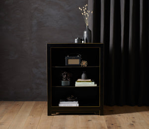 Qing Black Small Bookcase