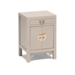 Qing oyster grey cabinet, small