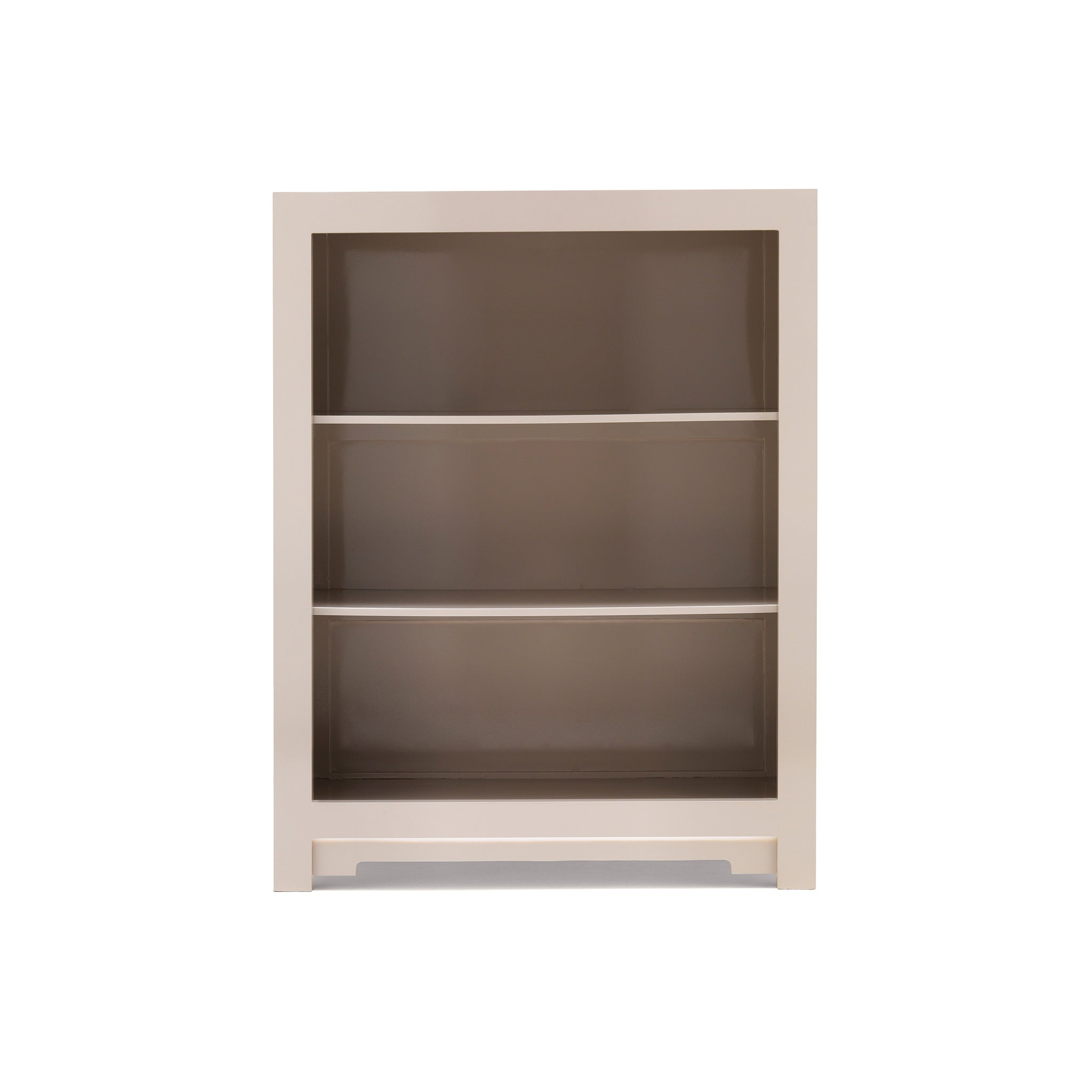 Qing Small Oyster Grey Bookcase