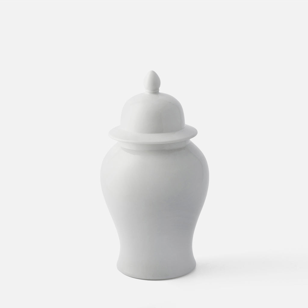Shadow White Ginger Jar