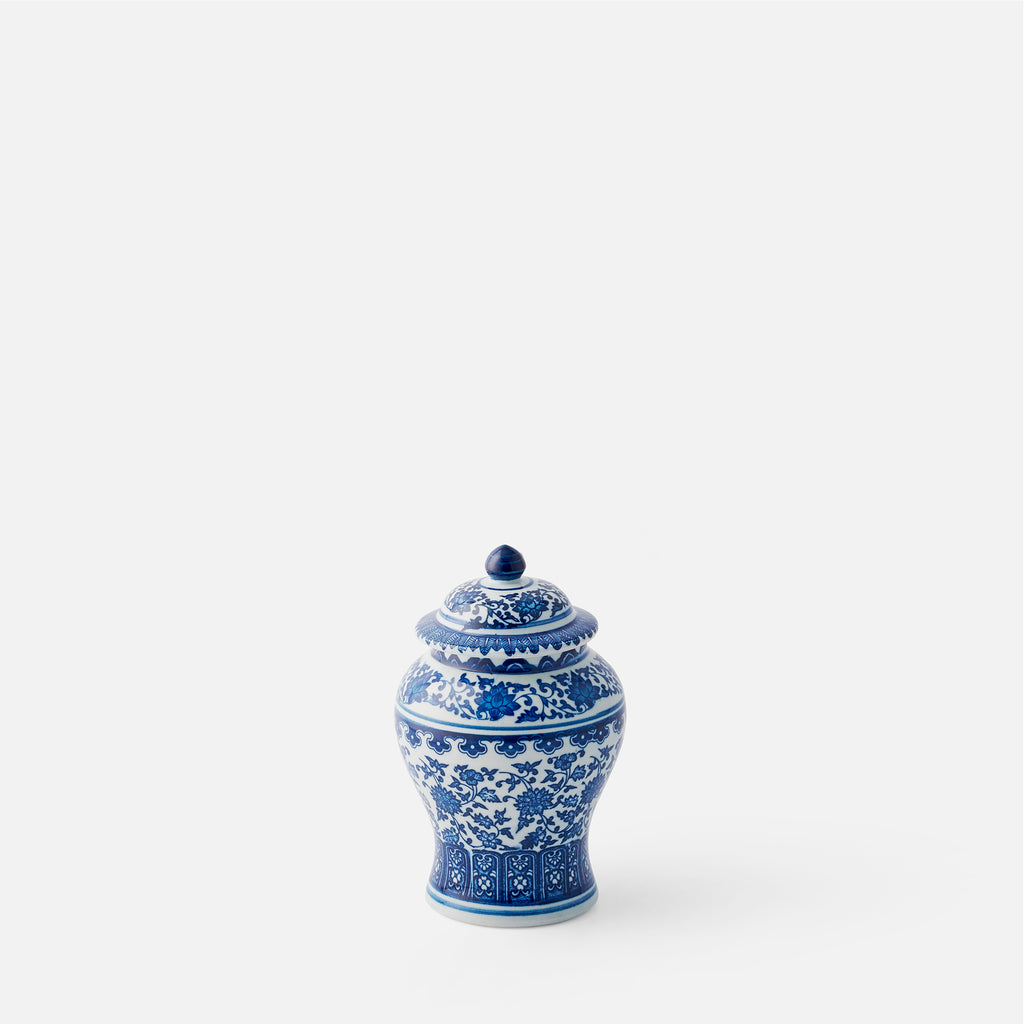 Small Floral Ginger Jar