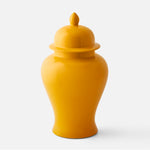 Ochre Yellow Ginger Jar