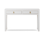 Qing white large console