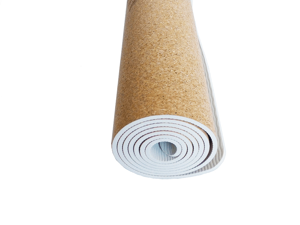 Cork Yoga Mat | 100% Natural, Available in 7 Colours | Yatay