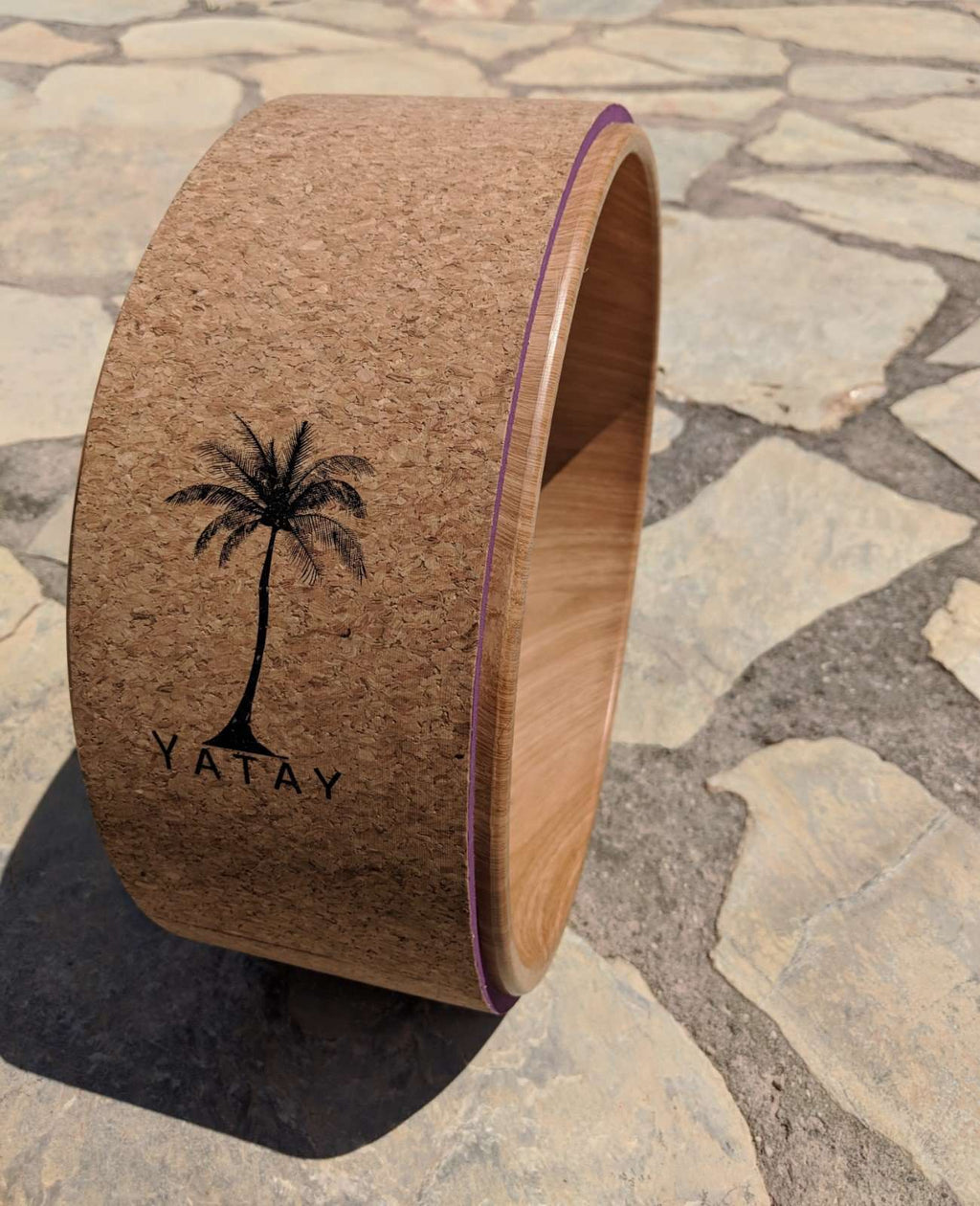 Cork Yoga Wheel | Made with 100% Natural Materials | Yatay