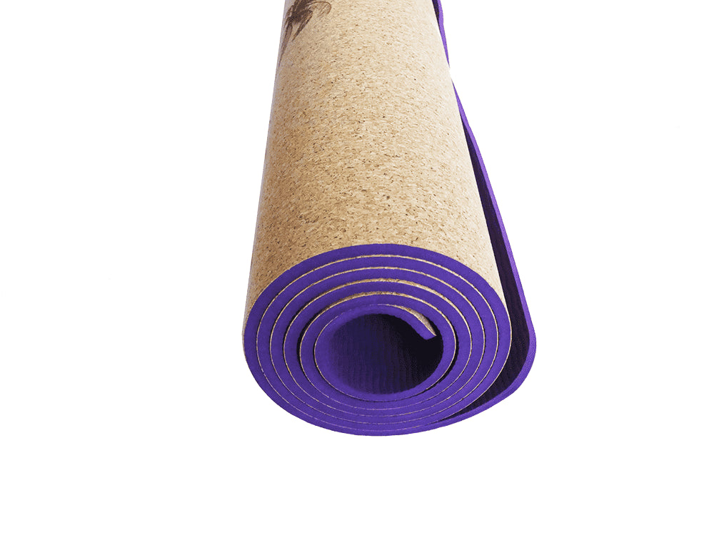 Yoga Mat | 100% Natural - Cosmic Sky