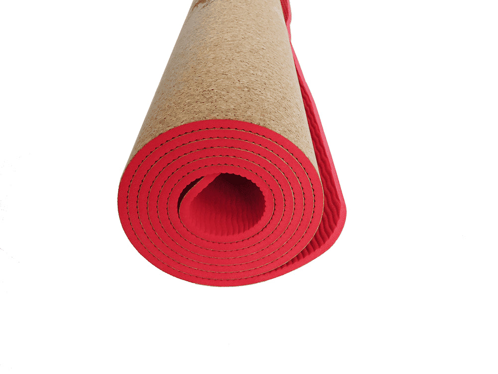 Yoga Mat | 100% Natural - Wild Poppy