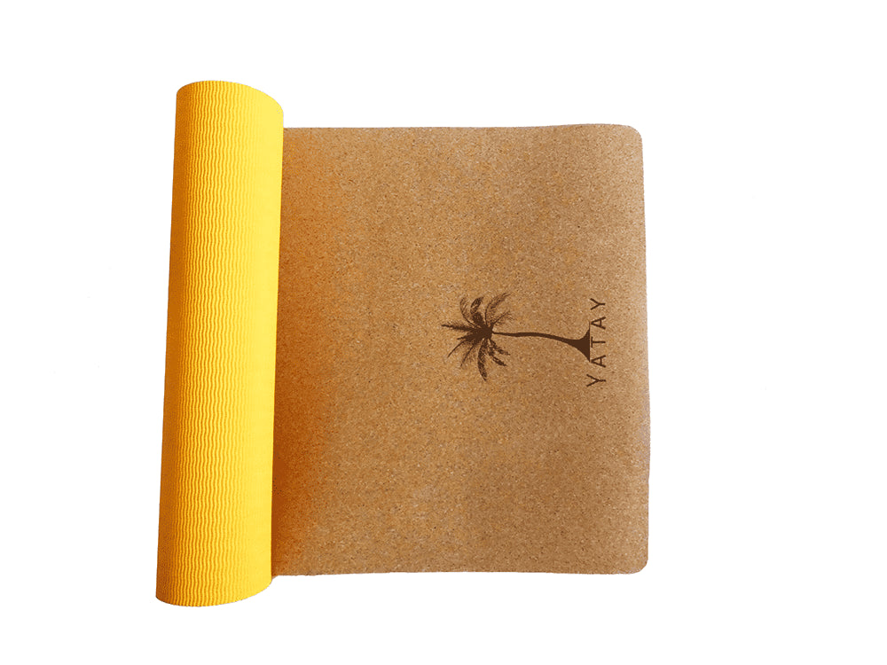 Yoga Mat | 100% Natural - Saffron Sun