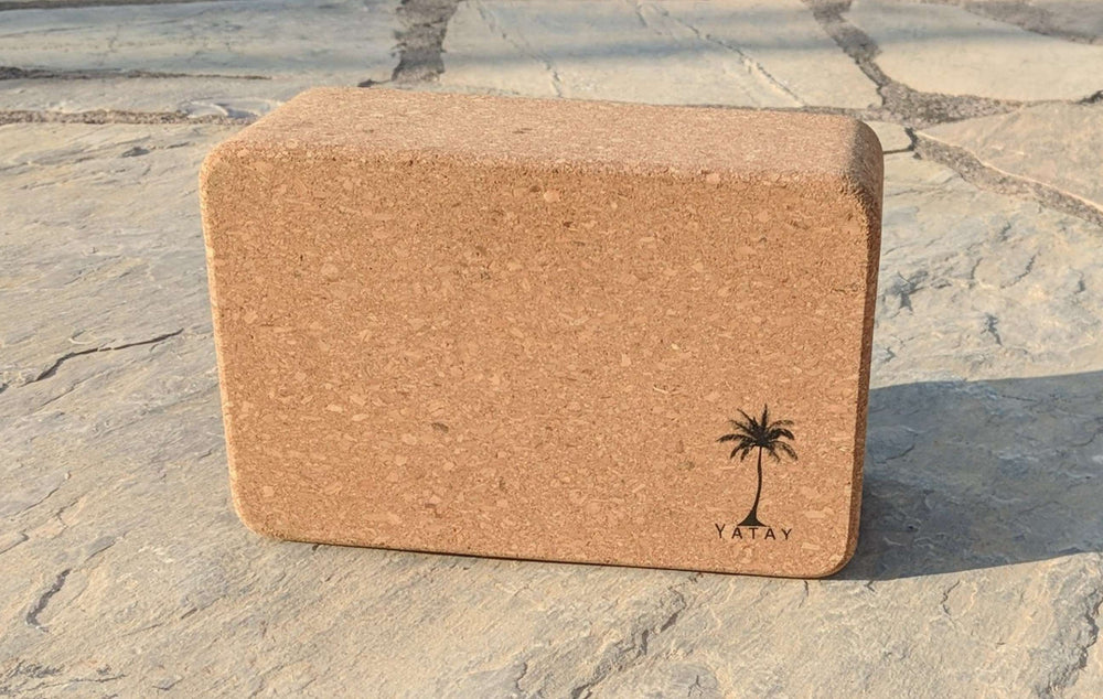 Cork Yoga Block | Hypoallergenic and Sustainable | Yatay