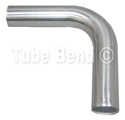 "76mm / 3"" - 90° Aluminium Mandrel Bend"