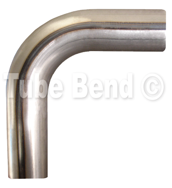 "50mm / 2"" - 90° Steel Mandrel Bend (medium radius)"