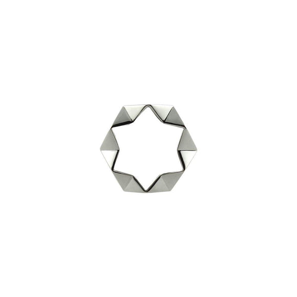Ring 'Geometry Silber'