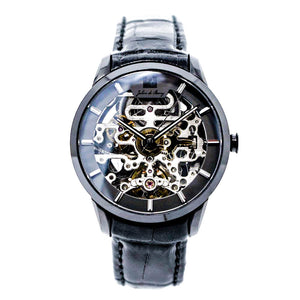 Automatik-Uhr 'Beauvoir Black'