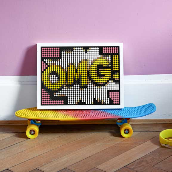 DIY Klebeposter-Set 'Comic OMG'