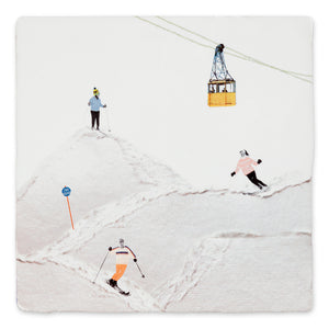 Fliese 'Wintersports'