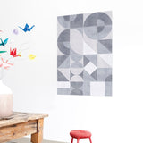 Wanddekoration 'Geometric Graphic'