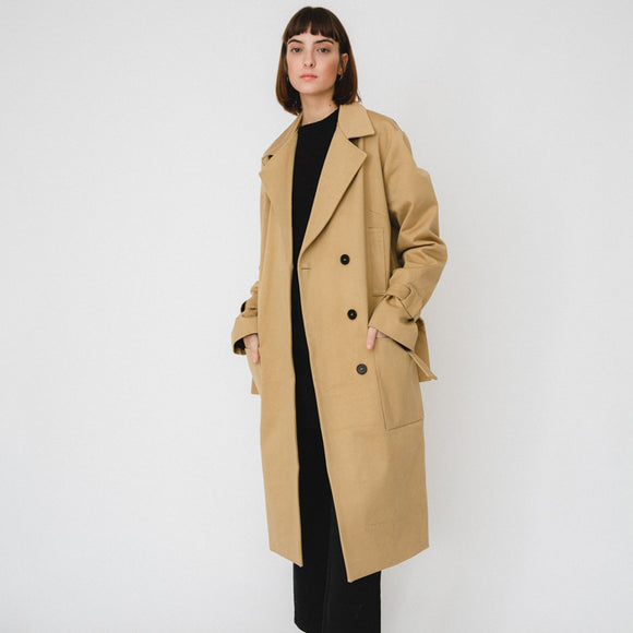 Trenchcoat 'Beige Oversized'