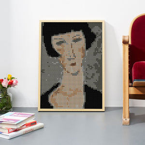 DIY Klebeposter-Set 'Modigliani'
