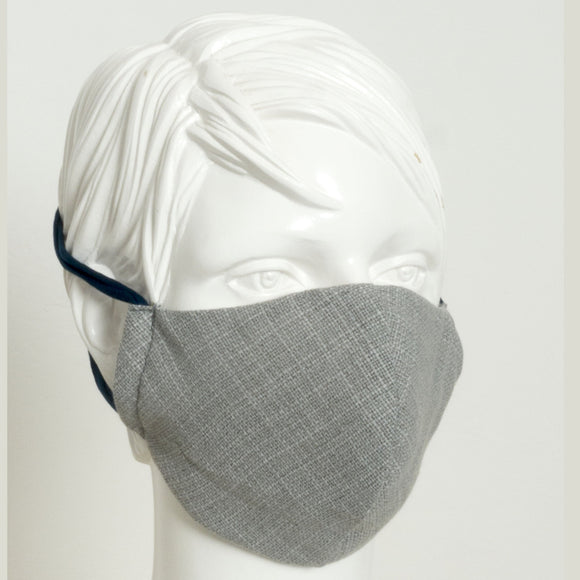 Maske reusable 'linen grey'