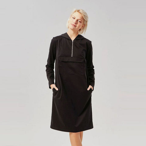 Kleid 'Hooded Dress' Black