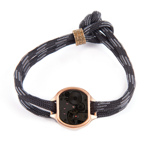 THE CADET BRACELET<BR> TOUCH OF GREY