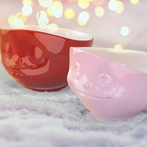 PINK BOWL <br> CRAZY IN LOVE<br> 500 ML