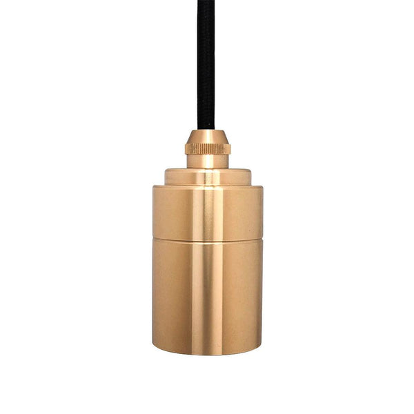 Brass Pendant with Glass Bulbs