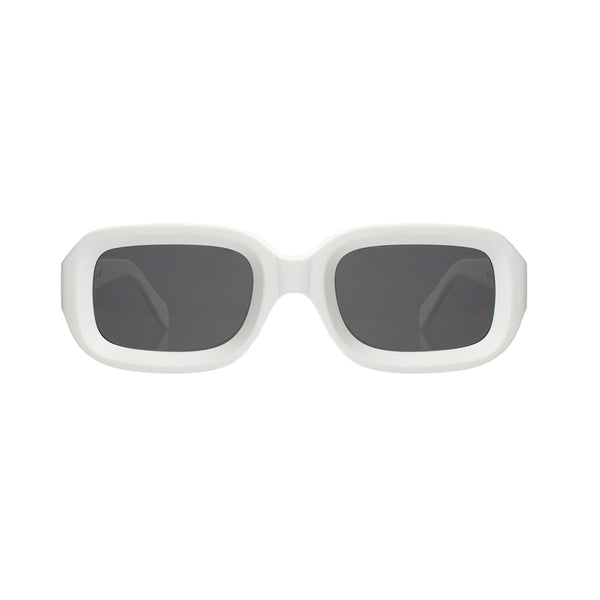 VINYL SUNGLASSES <br>Matte White