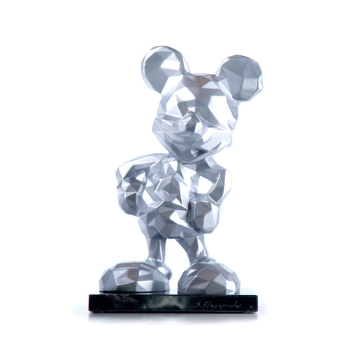 MICKEY LOW POLY <br> SILVER