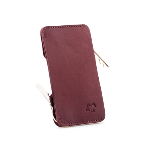 Speed Key & Card Holder <br> Burgundy