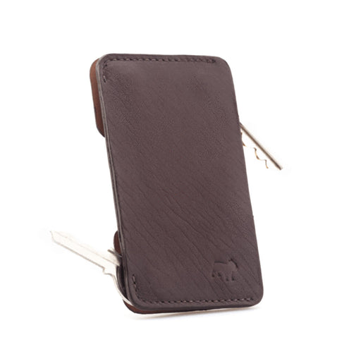 SPEED KEY & CARD HOLDER <br> MOCHA