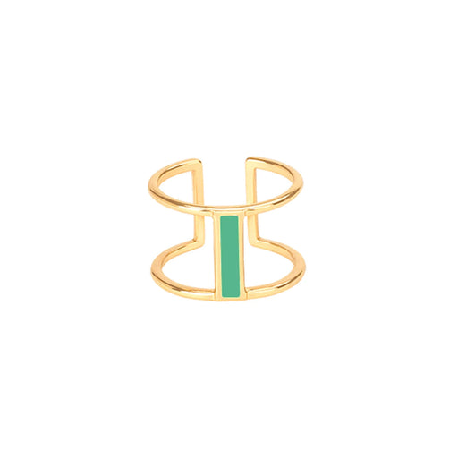 LUNE RING<br>OPAL GREEN