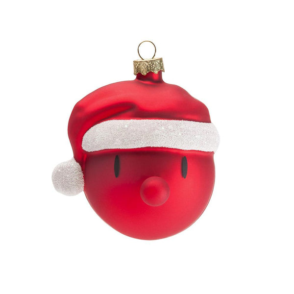MINI SANTA CHRISTMAS ORNAMENTS