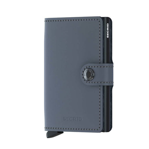 MINI WALLET MATTE <Br>Grey Black