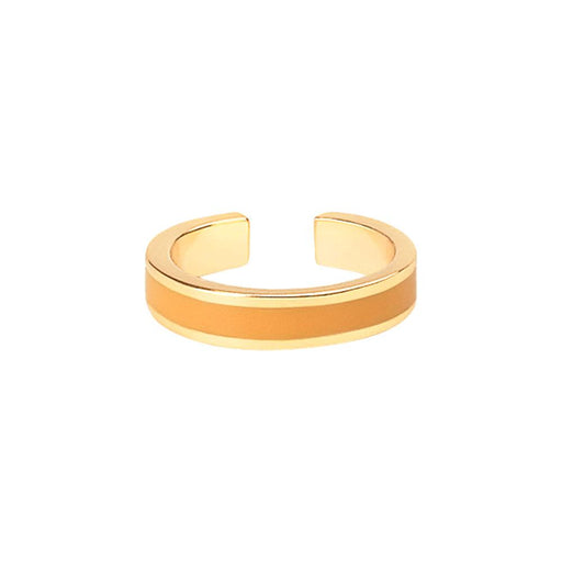 BANGLE RINGS <BR> SAFFRON YELLOW