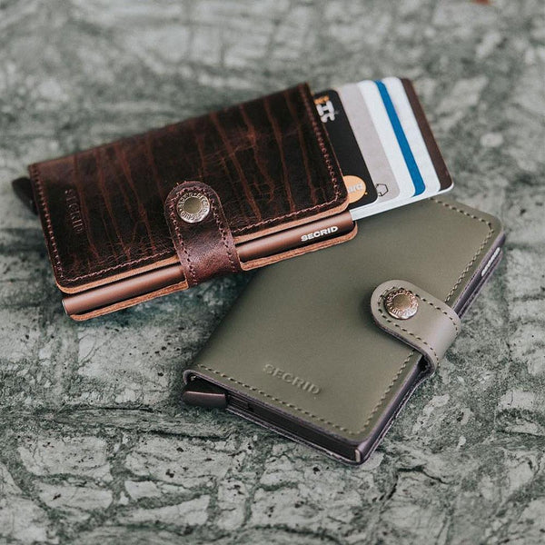 Mini Wallet <br> Dutch Martin Bordeaux