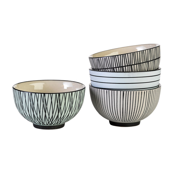 AFRESH PASTEL<br> SNACK BOWL<br> SET OF 4