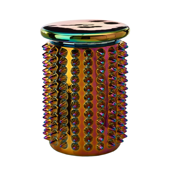 Oily Spikes Stool <br> (Ø 32 x H 45) cm