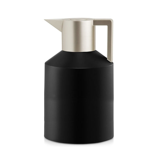 GEO VACUUM JUG <br> BLACK / METALLIC SILVER <br> 1.5 LITERS