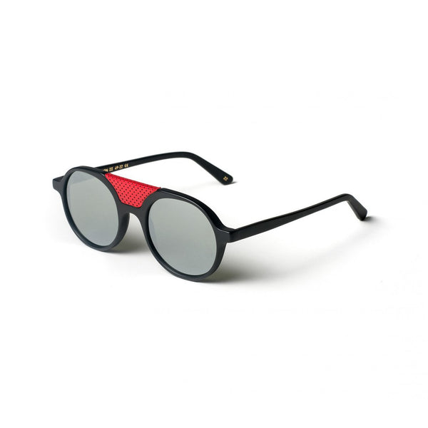 BLACK MATT<br> REUNION III SUNGLASSES
