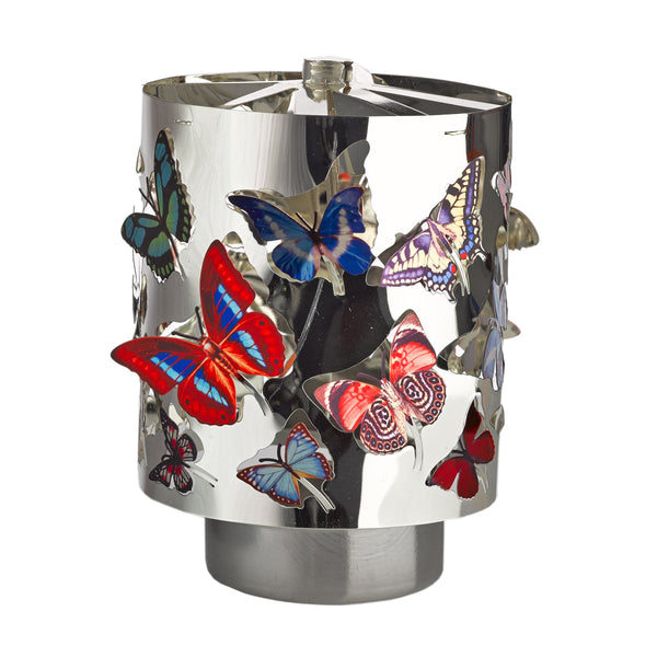 Waxine Spinning Butterflies <br>Candle Holder