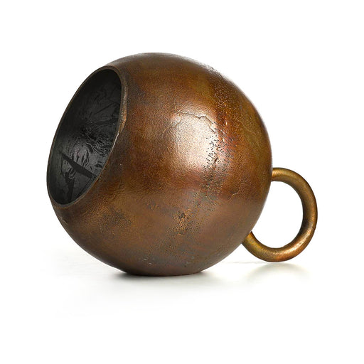 BROWN KETTLEBELL LAMP