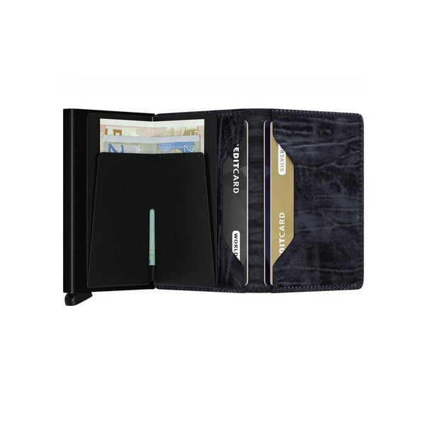 SLIM WALLET <br> DUTCH MARTIN Night Blue