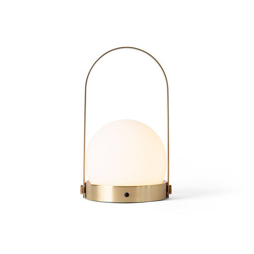 Carrie Table LED Lamp <br> Brushed Brass <br> (Ø 13.5 x H 24.5) cm