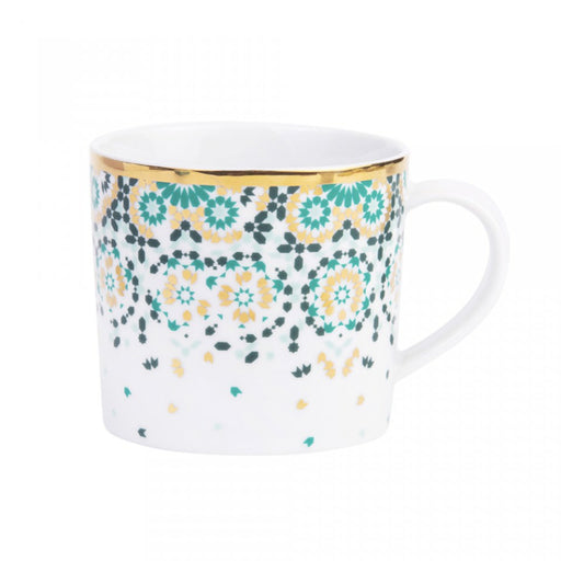 MIRRORS MUG <br> EMERALD GREEN